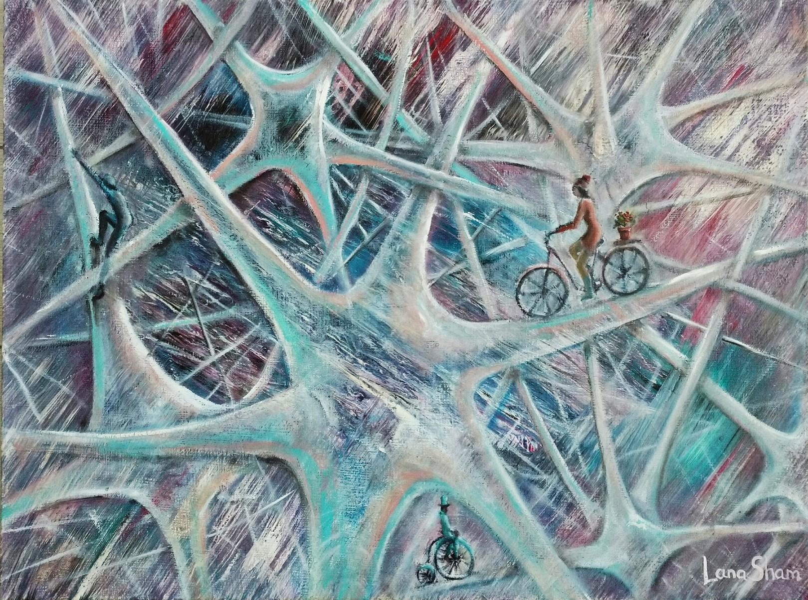 Путешествие по нейронным сетям, 60х80