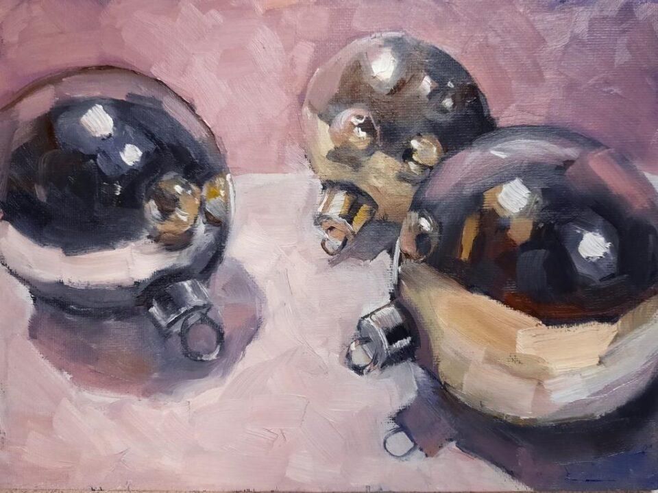 Три шарика