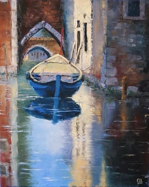 Венецианская улочка, 40×50