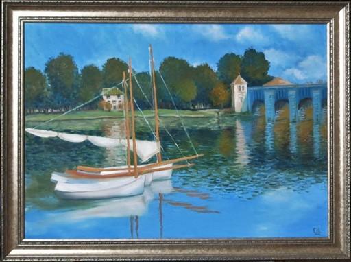 Яхты. Мост в Аржантее