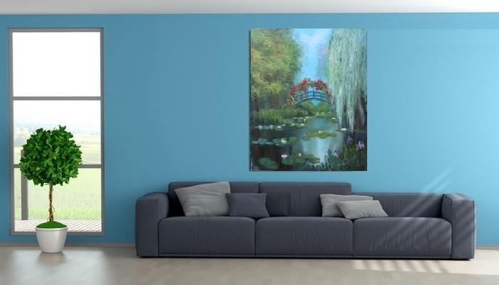 Сказочный лес и интерьере