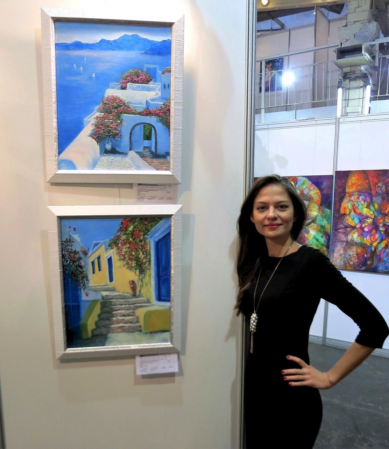 Картины на выставке