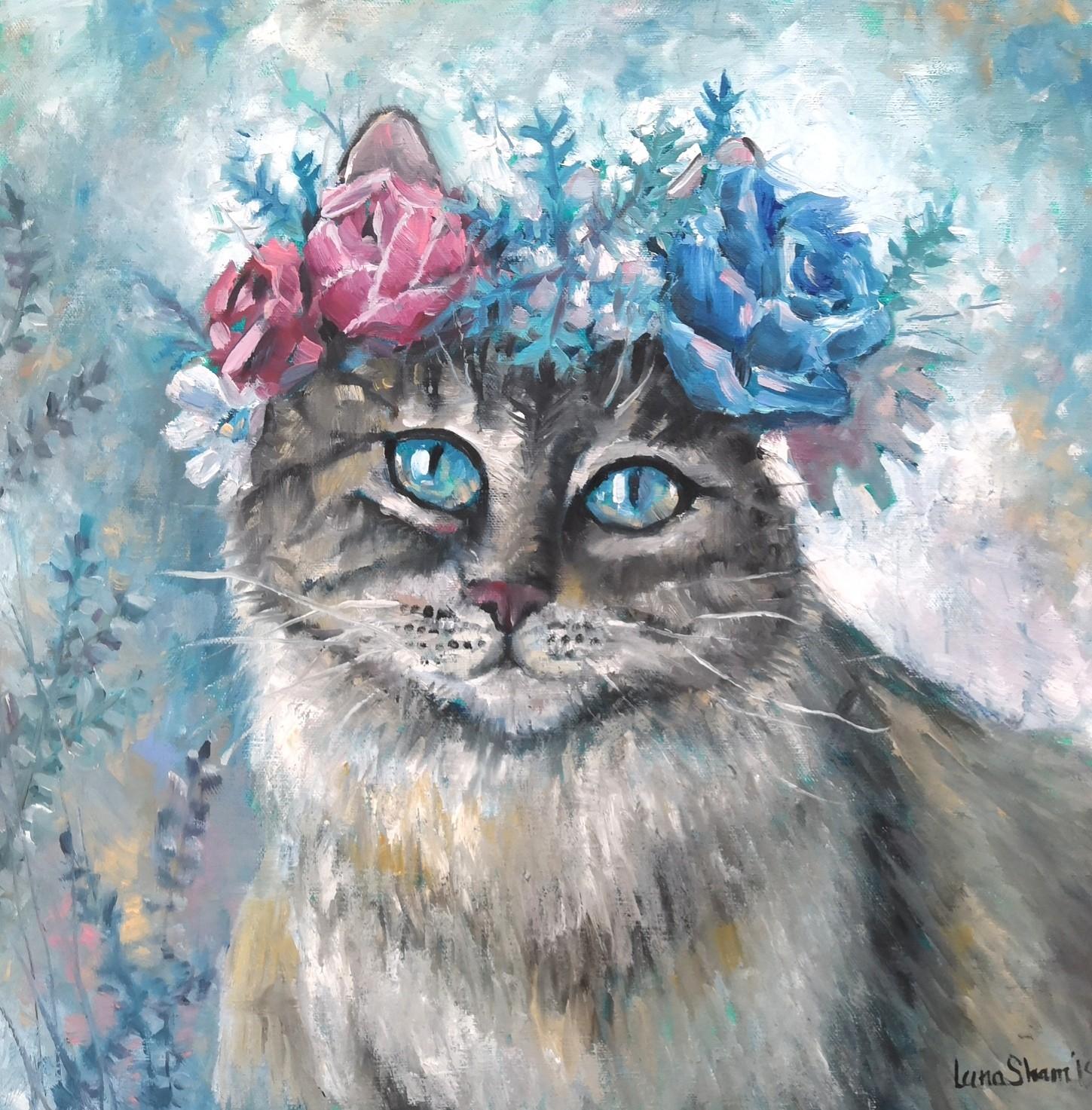 Мартовский кот, 40х40