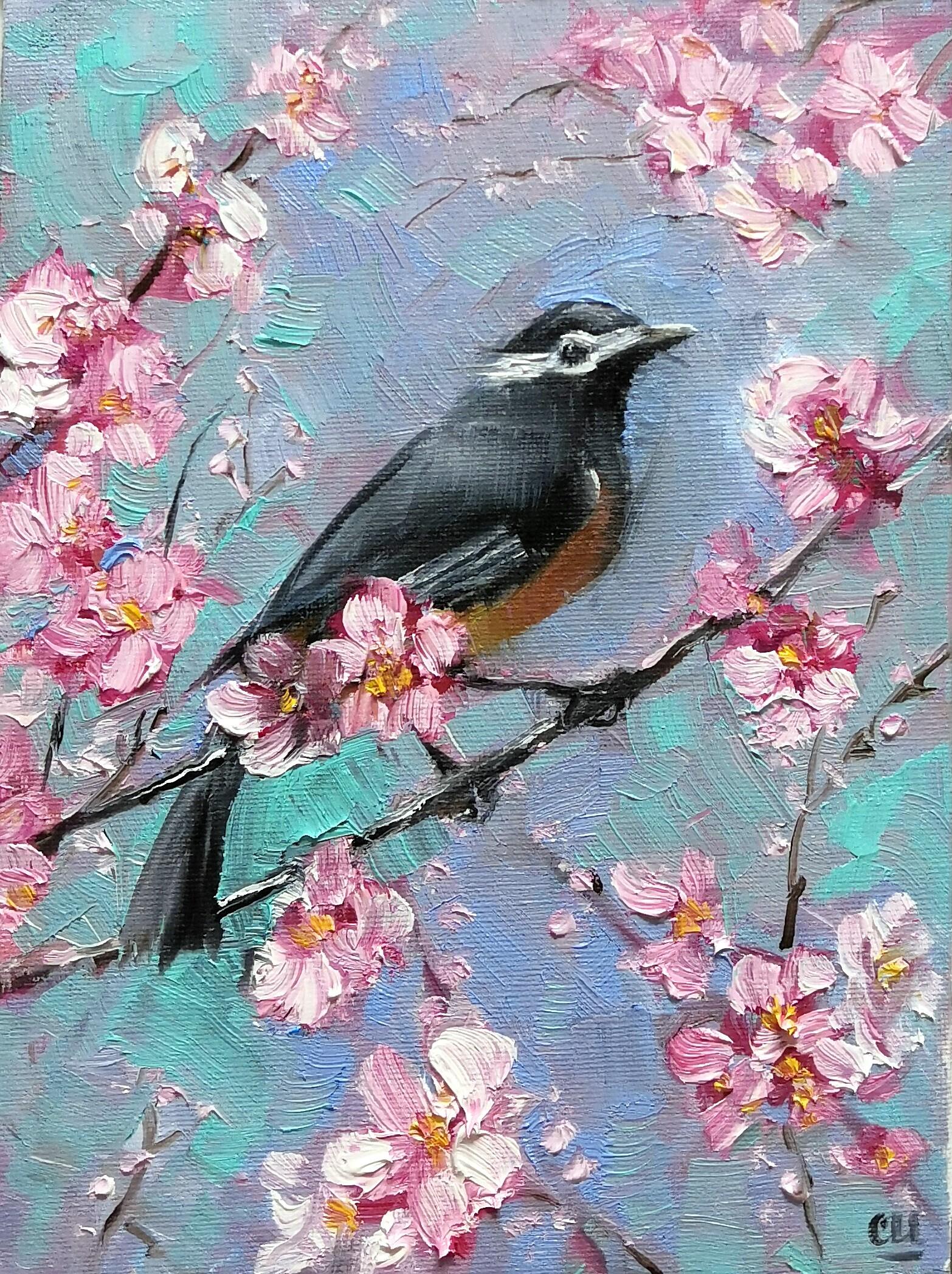 Райская птица, 24х18